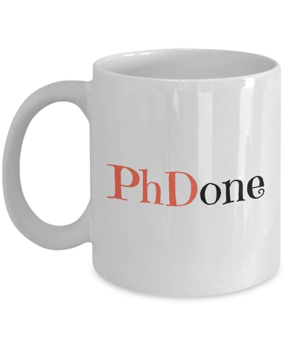 PhD Gift, Academic Humor Mug, Grad Student Gift, Dissertation, Graduation Mug, PhDone (11oz)