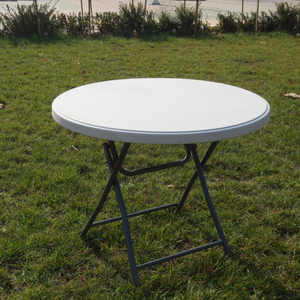 OEM custom fancy outdoor round plastic table manufacturer