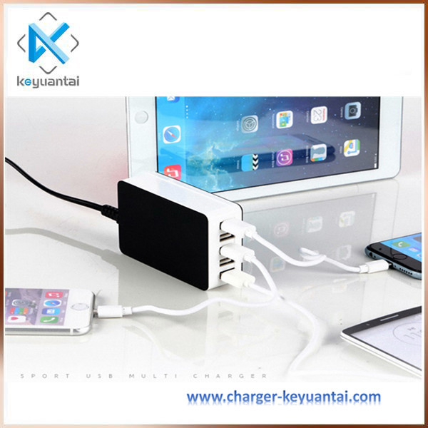5V 6.5A 5 Port Charger For Ipad/Tablet/Phablet Smartphone/Camera/Handheld Gaming Console With Ce, Rohs, Fcc,Erp,Kc Certificates