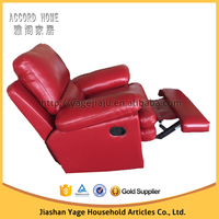 Lazy boy top grain genuine leather recliner sofa