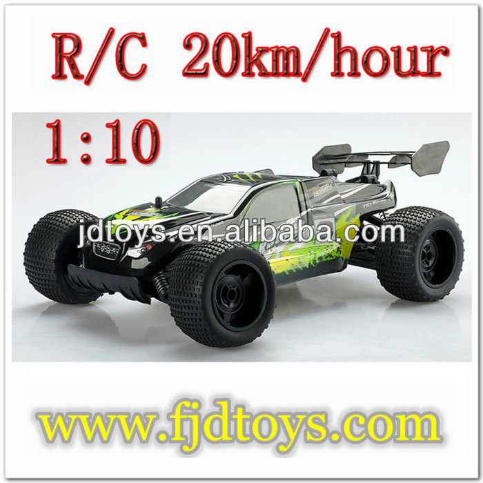 2.4G 1:10 scale high speed rc truggy toy