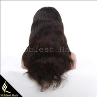 Lace Front 100% Human Hair Wigs Cheap Remy Hair Indian Straight Lace Front Wigs Natural Color Human Hair Lace Wigs