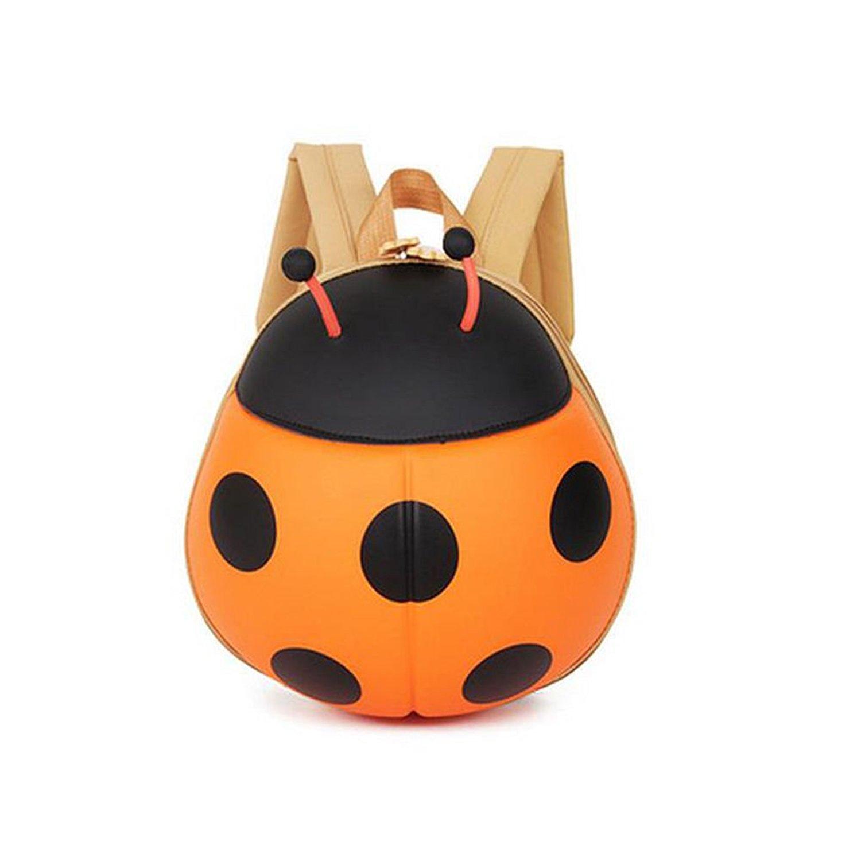 6c4bc1520ea5 Get Quotations · Kids Backpack Ladybug Beetle Backpack Kindergarten Children  School Travel Bags (Orange)