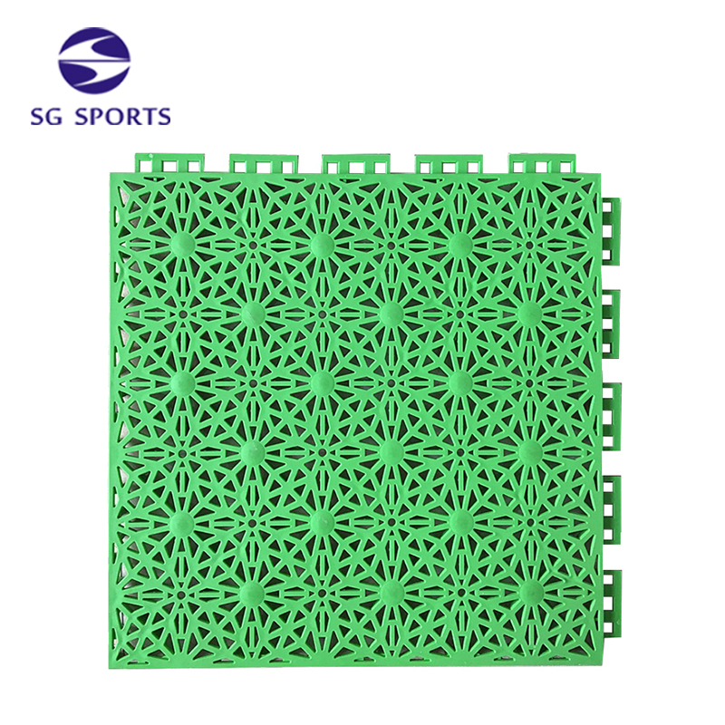 High Quality Good Plastic Raw Material Prices Interlocking Volleyball Court Floor
