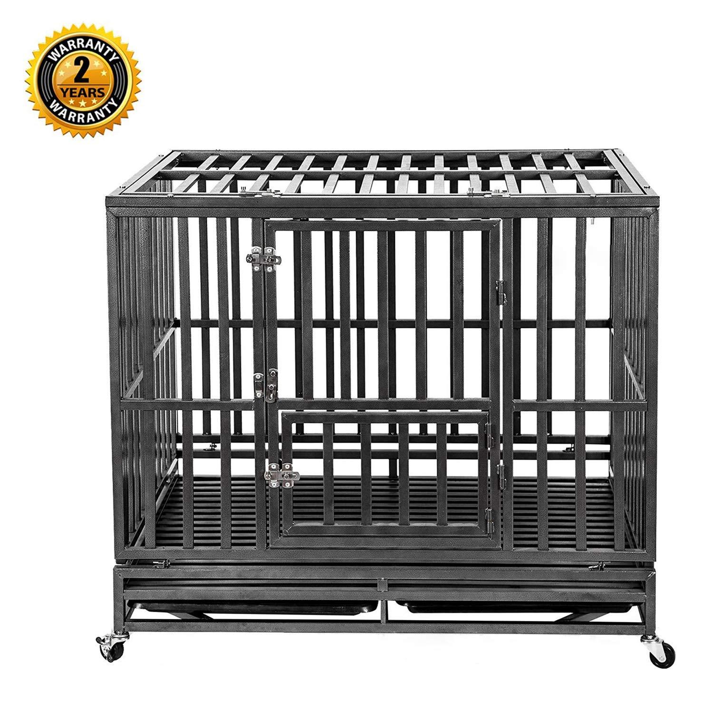 heavy duty metal dog crates