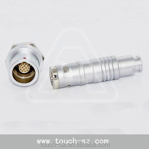 China 12 Pin Auto male female electrical wire plug connectors