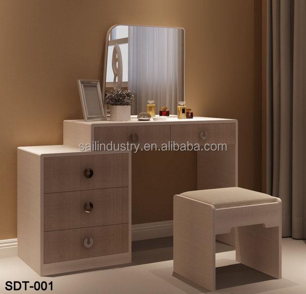 modern bedroom wood dressing table designs