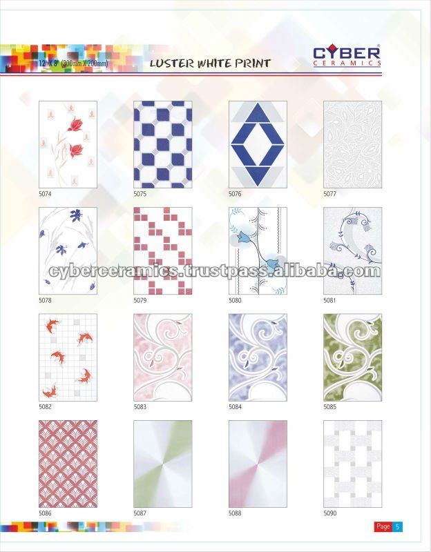 India 8x12 Ceramic Tile Manufacturers And