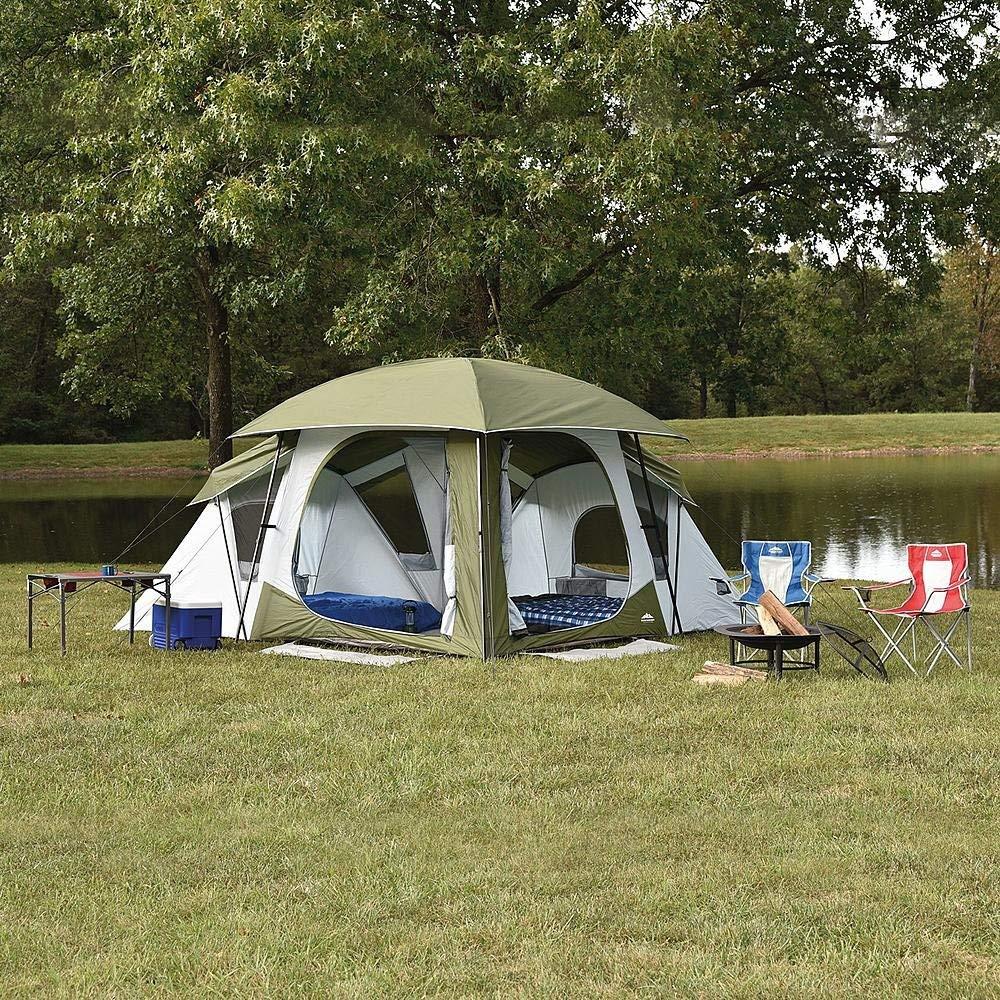Northwest Territory Falcon 13\u0027 x 13\u0027 Tent Sleeps ... & Buy Northwest Territory Front Porch Tent 18 X 12 in Cheap Price on ...