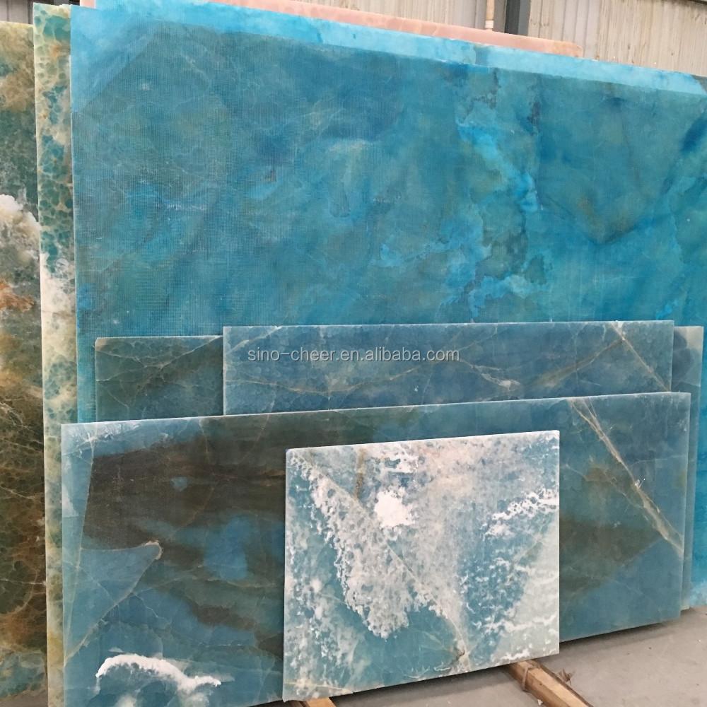 Transparent Blue Onyx Slab, Transparent Blue Onyx Slab Suppliers and ...
