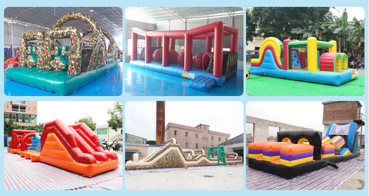Adult outdoor funny games inflatable obstacle course inflatable laser tag inflatable maze