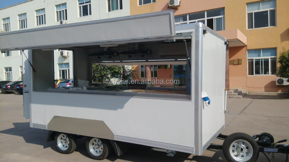 Mobile food trailer fast food sale trailer new design for Design sale mobel