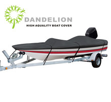 customize heavy duty 600D oxford fabric trailer boat cover