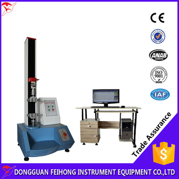 5KN Computer Servo Control Textile Tensile Strength Test Machine