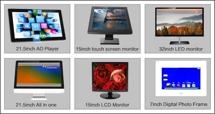 qhd dc12v 42inch industrial high brightness led monitor wholesale
