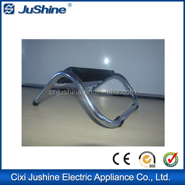 Stainless steel footrest for salon styling chairs Plastic Footrest