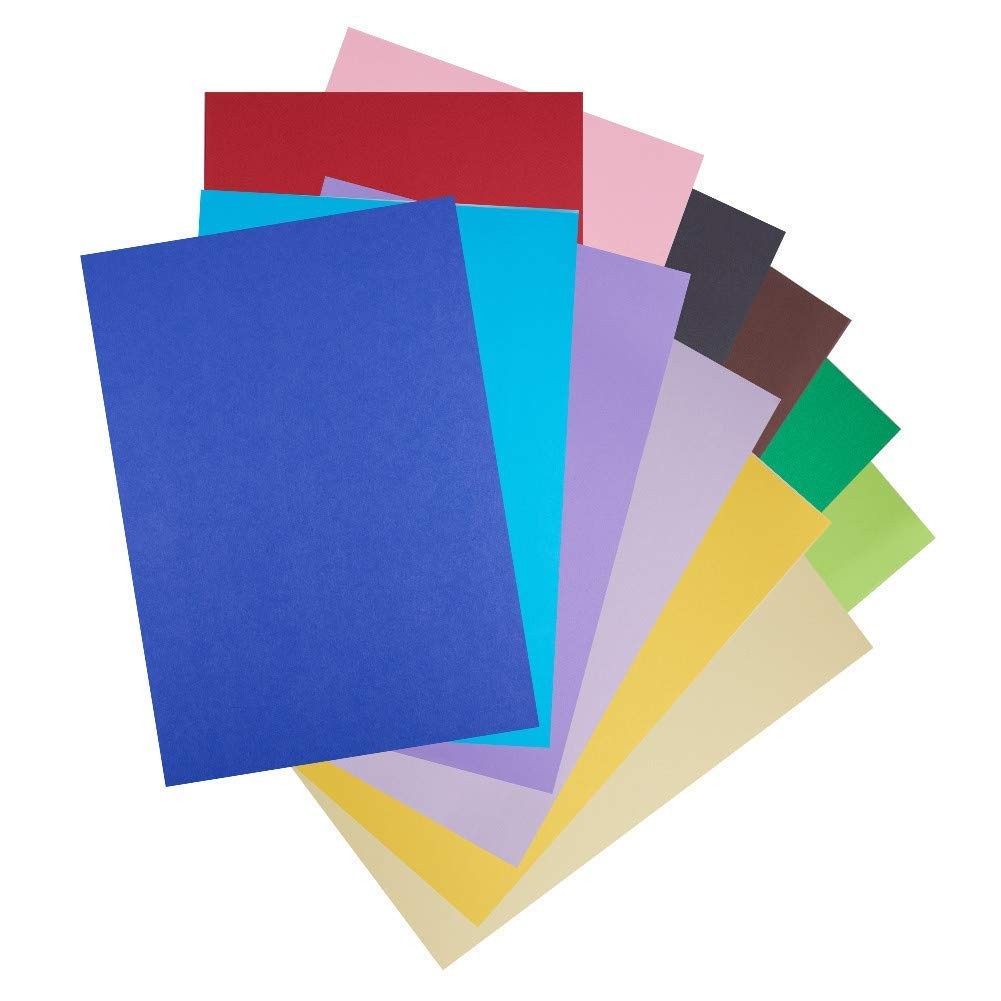 "BENECREAT 48 Sheets A4 Size Cardstock Paper Double Sided with 24 Vivid Colors for DIY Handcrafts, Crafts Projects, Card Making, Diy Craftwork-11.4"" x 8.3"""