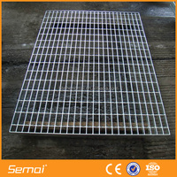 Standard Platform Floor Galvanized Steel Grating (Factory price)