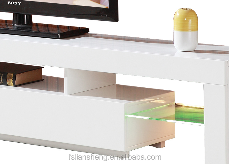 Modern Furniture Design Outdoor High Gloss Led Tv Stand
