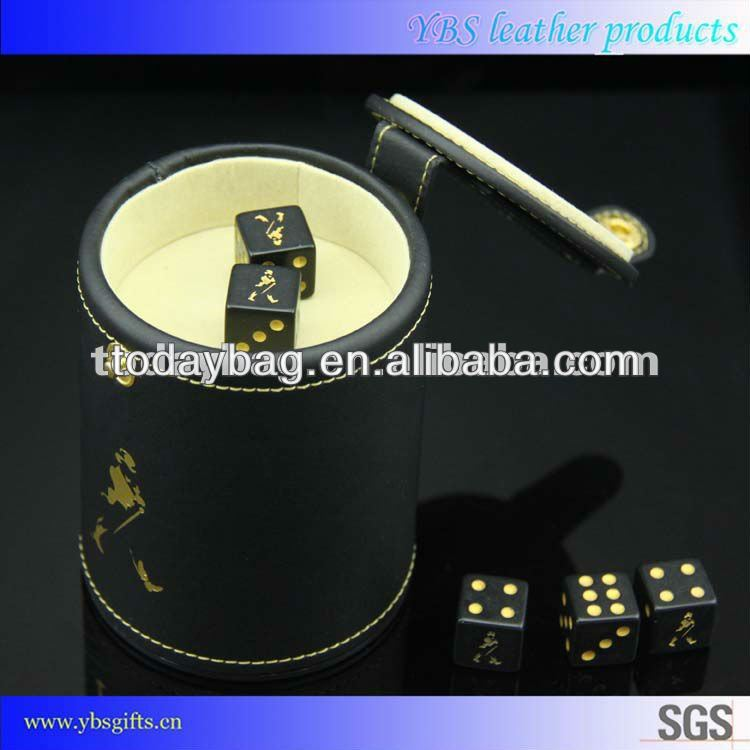johnnie walker casino gambling accessory dice cup