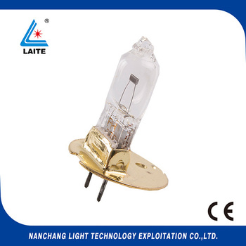 For Topcon ACP-8 12V 50W projector bulb halogen lamp assembly round brass disk