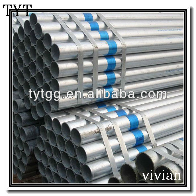 delivery galvanized pipes specification