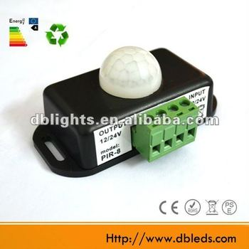 mini circuit schutz pir sensor schalter 12 volt buy. Black Bedroom Furniture Sets. Home Design Ideas
