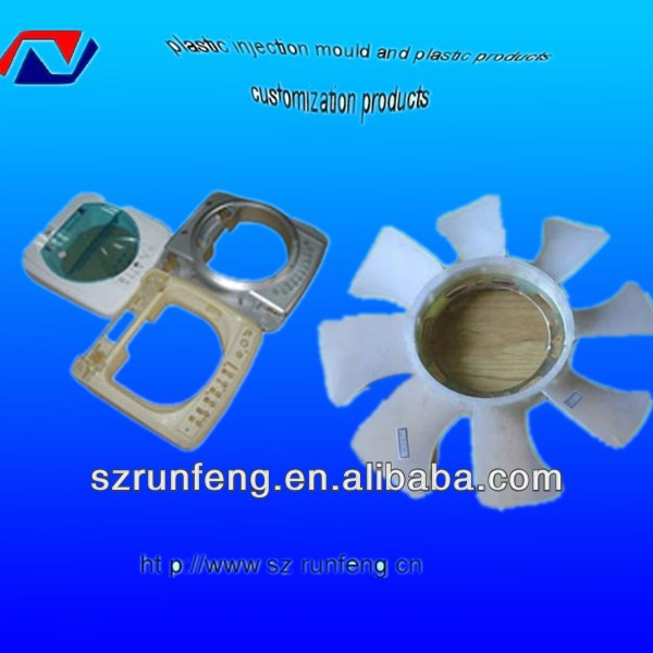 Injectable plastic appliance spare parts