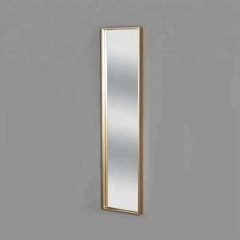 Popular Hot Selling Modern Simple Slim Full Length Hanging Vertical Rectangular Gold Frame Wall Mirror Buy Unique Wall Mirrors Fancy Wall Mirrors Decorative Wall Mirror Product On Alibaba Com