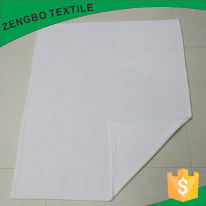 100% polyester smooth blank white fleece flannel baby blanket for sublimation print