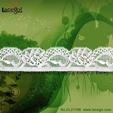 Latest Nylon Spandex Stretch Wedding Lace Motif