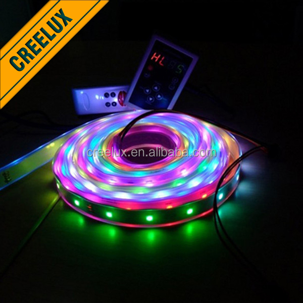 5V WS2812B 5050 RGB LED Strip 30 60 144 Led/M 1M 4M 5M Waterproof