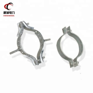 ChenCheng factory supply overhead galvanized steel electrical cable strain pole clamp