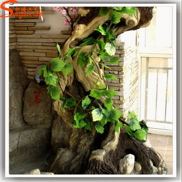 alibaba china decorative realistic large artificial oak tree bark trunk for sale buy