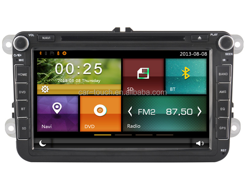 car multimedia navigation system car dvd for Skoda OCTAVIA gps with bluetooth USB SD