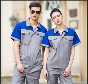 Wholesale custom summer short sleeve work wear overalls