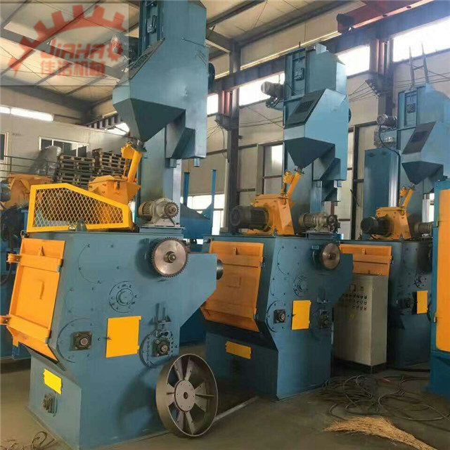 China Factory Supplier Auto Loading Unloading Crawler Type Shot/Sand/Abrasive/Grit Blast Cleaning Machine/Equipment at Sale