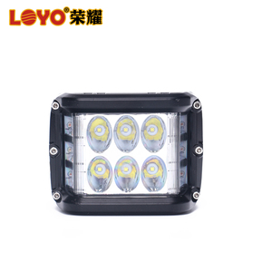 Factory supplier 60w car led work lamp offroad side shooter work light