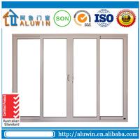 china cheap aluminium frame exterior sliding doors for sale