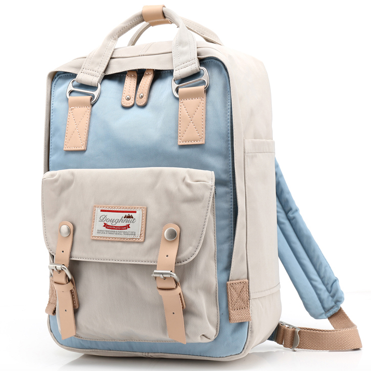 Fashion beautiful vintage name brands cute female school bags backpack for girls