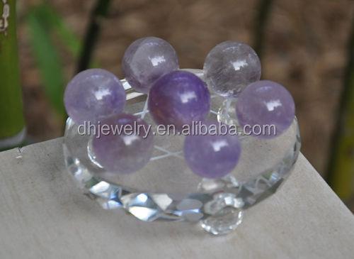 Natural Dream AmethystQuartz Magic Crystal Healing Ball Sphere 7pcs