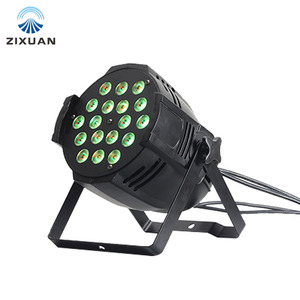 led stage light 18 x 10w RGBWA UV 6in1 led par light dj led par64 can lighting