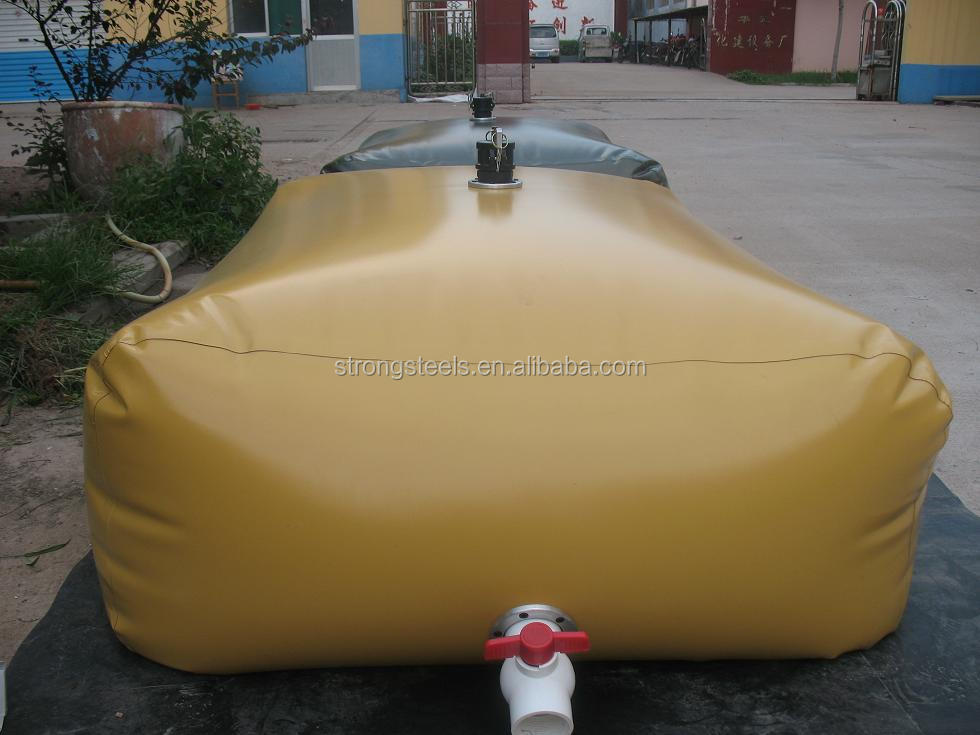 Pillow shape PVC collapsible water tank 50L