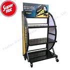 Wholesale Metal Car Shop Display Storage Rack Electric Ebike Bicycle Case Shelf Battery Stand