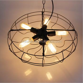 American Rustic Pendant Wall Lamp