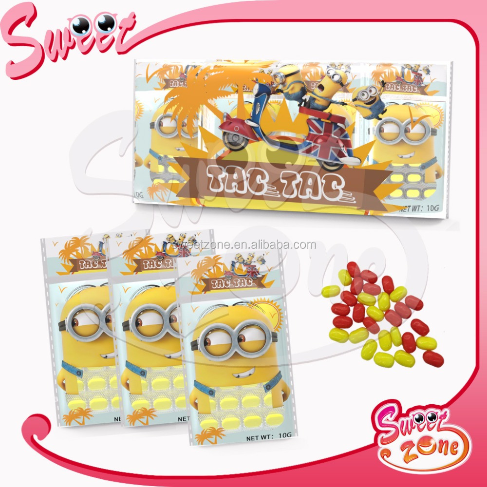 Sweet Zone Tic Tac Mints Fruity Minion Candy