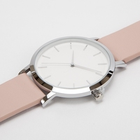 Pink Simple Design Fashion Quartz Watch for Girls