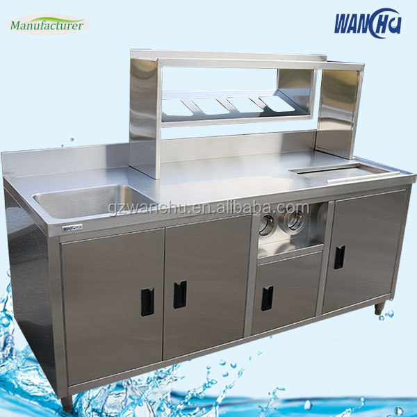 commercial kitchen storage cabinets custom stainless steel industrail kitchen sink base 13752