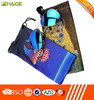 printing microfiber mobile phone pouch with any color, size