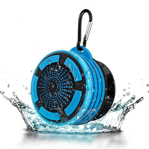 Amazon hot seller buy china oem waterproof bluetooth speaker with carabiner for outdoor sports cycling climb camping